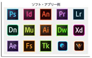 Adobe製品一覧