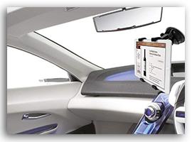 iPad車で使うスタンド