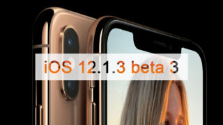 iOS 12.1.3 beta 3